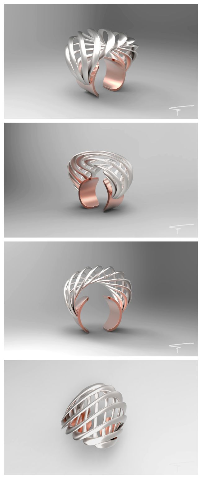 ring design / FORGER - by Fernando Canales Pedreros  www.fernando.com.pe
