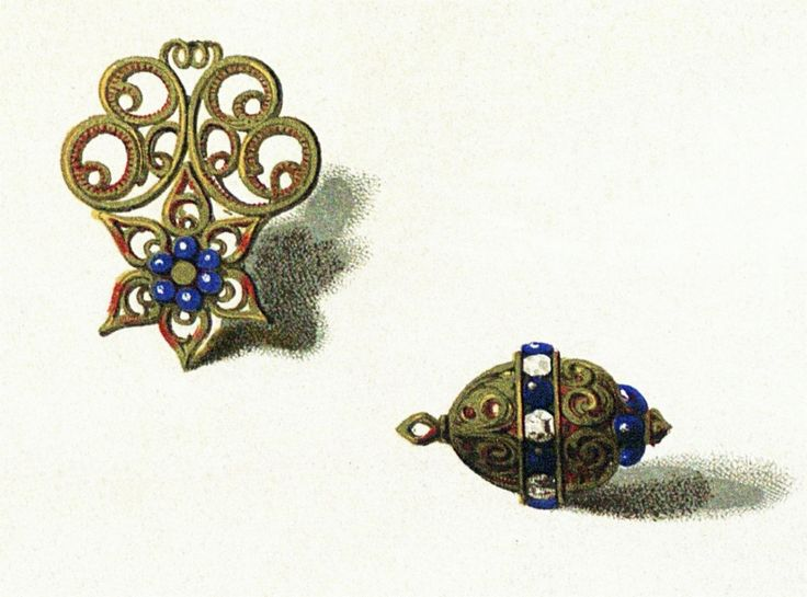 Decorative buttons from a set which belonged to Stephen Báthory by Anonymous from Poland or Transilvania, second half of the 16th century, Muzeum Czartoryskich