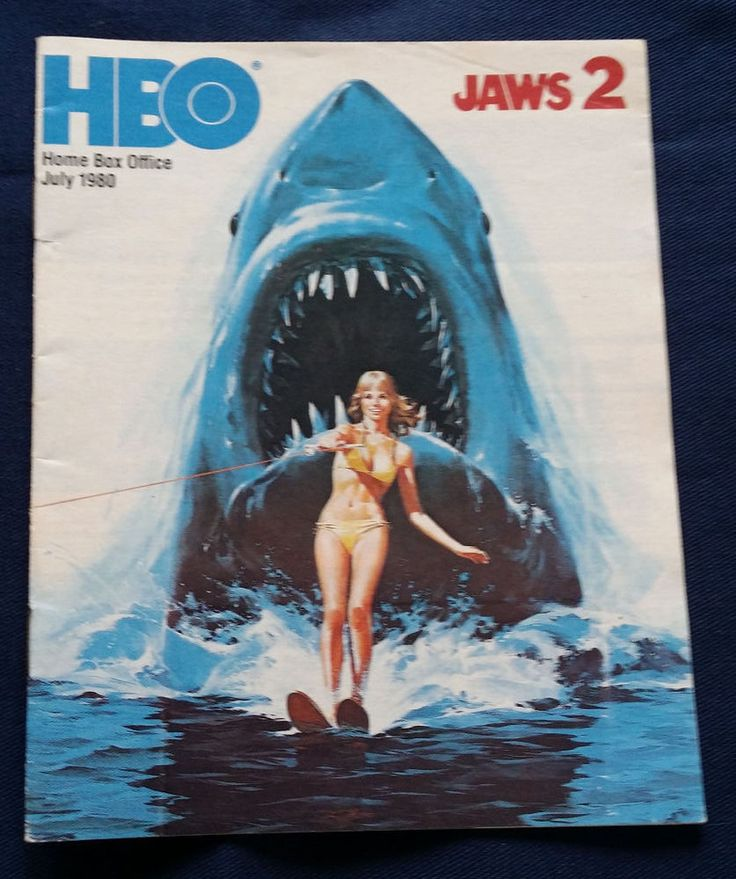 1980 JAWS 2 HBO Guide July Barbra STREISAND Home Box Office Cable TV Magazine | Entertainment Memorabilia, Television Memorabilia, Merchandise & Promotional | eBay!