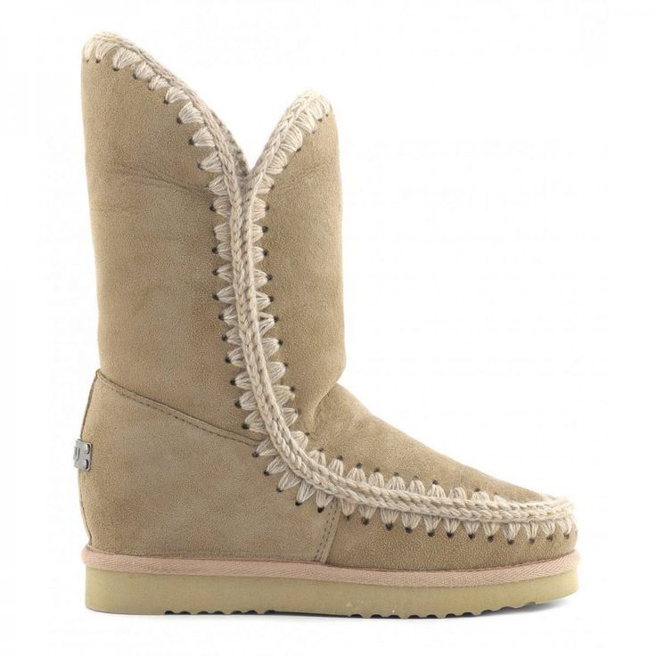 mou eskimo wedge tall camel #mou #boots #fashion #winterboots #winter #gifts #women