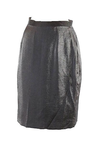 88e3a70e3 Ann Taylor Womens Size 6 Metallic Charcoal Gray Pencil Skirt #AnnTaylor  #StraightPencil #Formal