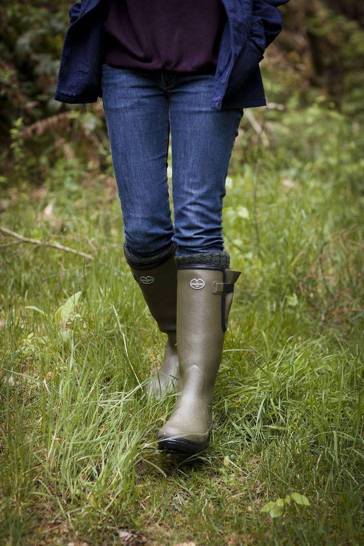 Le Chameau Vierzon Women's Wellington Boots | Boots