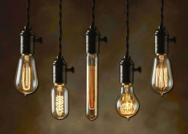 suspension ampoule edison, ampoule à filament, ampoule incandescente vintage