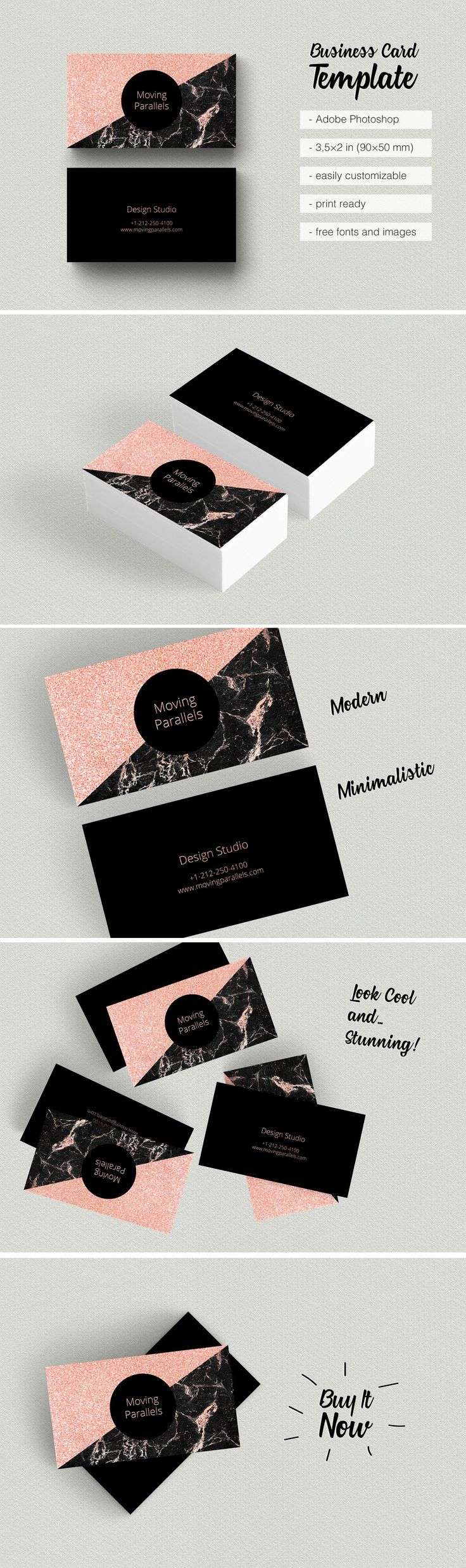 As 9365 melhores imagens em professional business cards no pinterest 8 rose gold business card etsy is classy sophisticated and elegant visiting card templates reheart Images