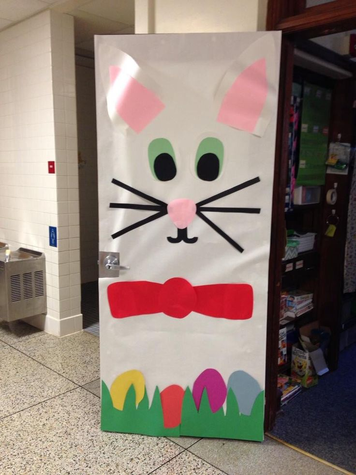 Classroom Easter Ideas : Easter spring door decoration decorations
