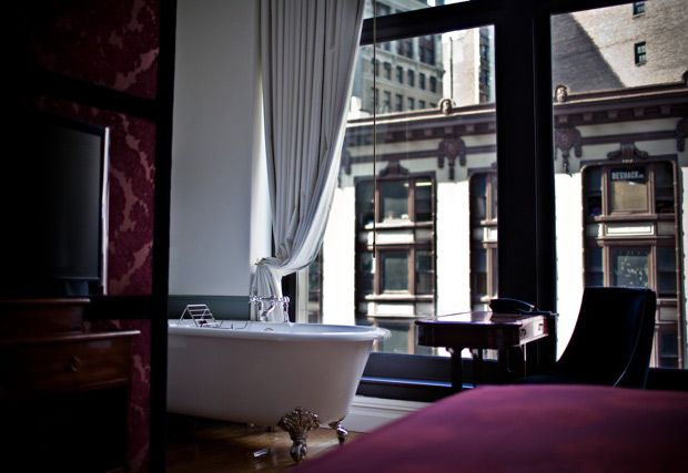 The Nomad Hotel, touche frenchie moderne et vintage http://seuleanewyork.com/2012/05/16/the-nomad-hotel/