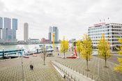 Thon Hotel Rotterdam  Description: Gastvrijheid aan de Maas dat is wat Thon Hotel Rotterdam u biedt. Thon Hotel Rotterdam is gelegen op een prachtige plek in Rotterdam aan de oever van de Maas en in de directe nabijheid van het centrum en het havengebied.De meeste hotelkamers bieden de gasten een fascinerend uitzicht op de Erasmusbrug de Maas en de Skyline van Rotterdam. Alle kamers zijn volledig gerenoveerd en naast een nieuw uiterlijk zijn ze voorzien van de meest moderne faciliteiten…