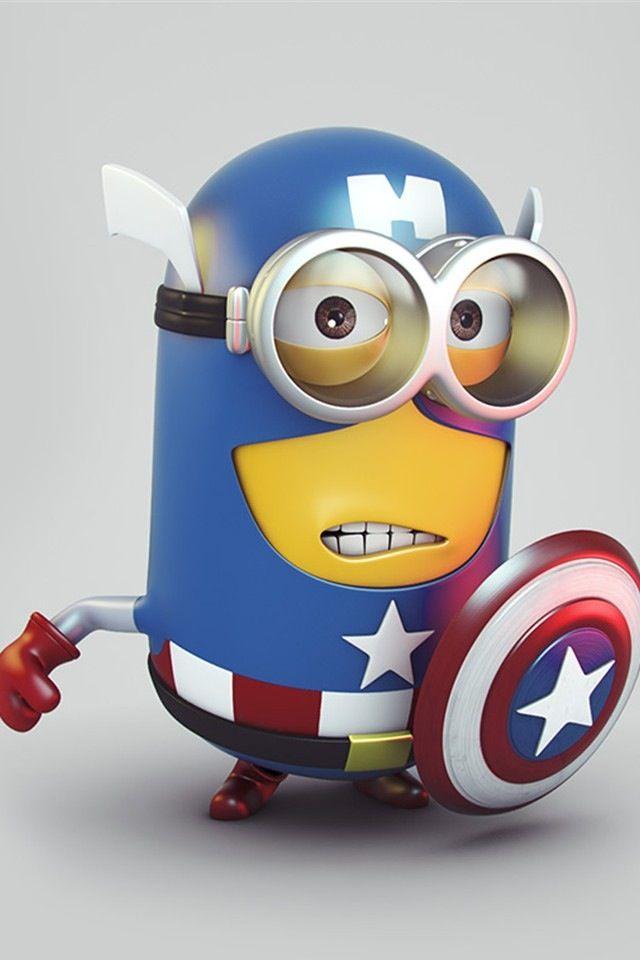 Caption America minion