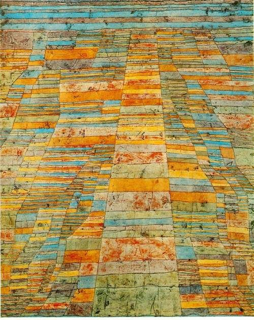 Paul Klee - Highway and Byways, 1929. Oil on canvas