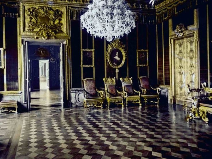 Kaiserzimmer Berlin City Palace Destroyed 1950 Rococo Architecture Decoration And Design