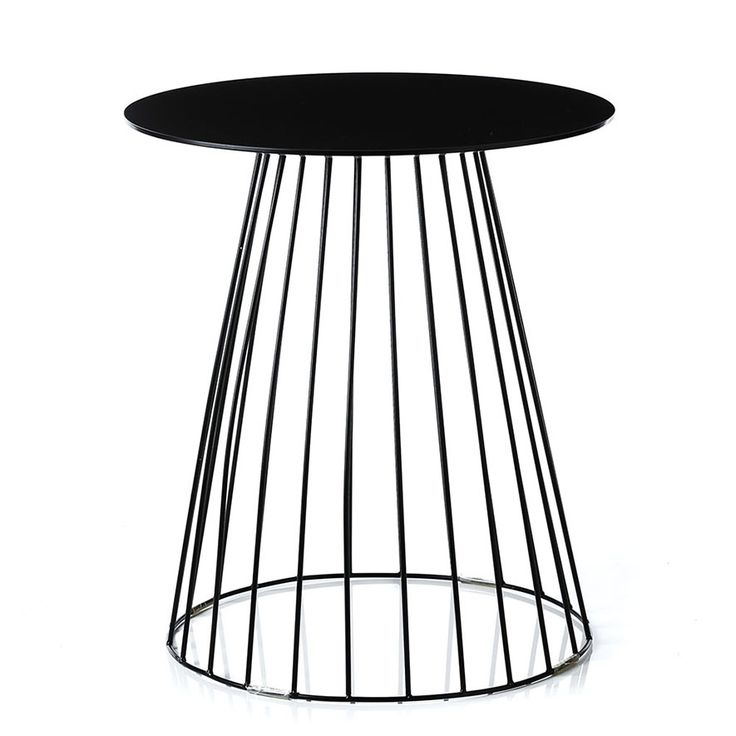 Home Republic - Element Tower Side Table Black - Furniture Side Tables - Adairs Online