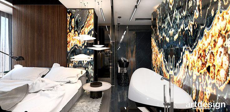 WELCOME TO THE JUNGLE | II | Wnętrza apartamentu | Sypialnia połączona z łazienką