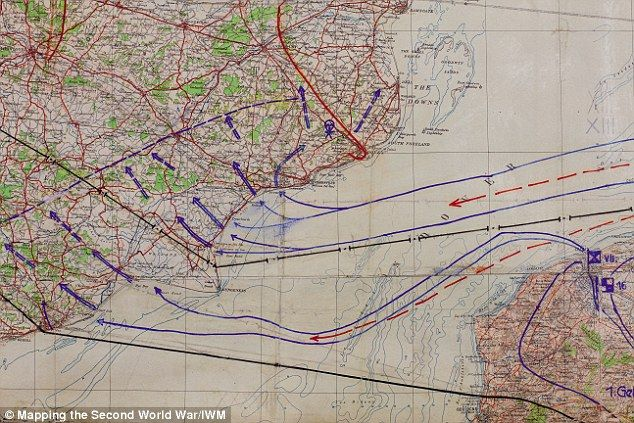 The German invasion plans included landings on a broad front from Dover to Dorset and, once these bridgeheads had joined up, advancing and capturing London and the area south of a line from the Bristol Channel to the Wash. The Germans planned to launch Sealion once they had achieved the air superiority to nullify the Royal Navy - but the Luftwaffe was defeated and the operation never took place