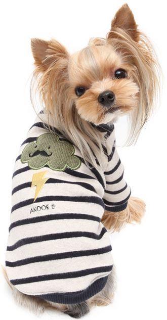 Sudadera para perro Cloud de la firma Puppy Angel. Protege a tu mascota del frío con esta sudadera que podrás encontrar en www.dogsaffaire.com