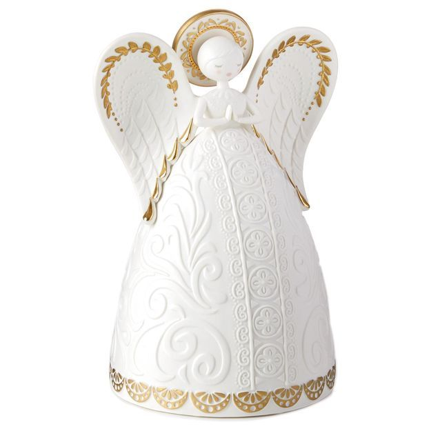 Add some #inspiration to any home with this beautiful gold accent angel figurine. It makes a blissful #holidaygift! http://bit.ly/2gqIgiD
