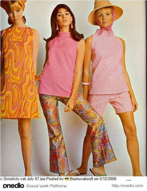 стиль 60-х годов