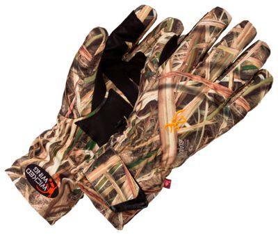 Browning Wicked Wing Insulated Gloves for Men - Mossy Oak Shadow Grass Blades - XL