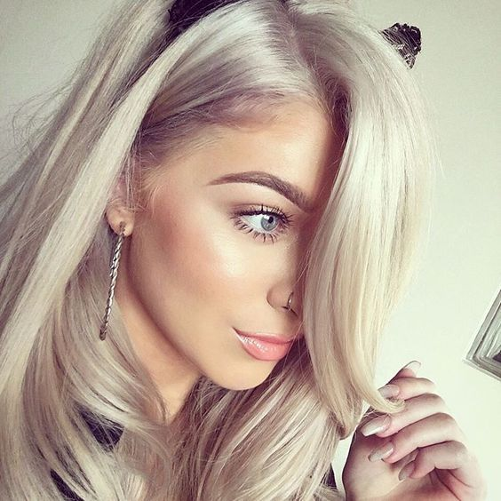 Hair Color Ash Blonde