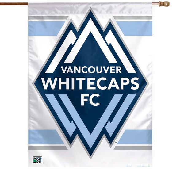 Vancouver Whitecaps FC WinCraft 27'' x 37'' Vertical Banner Flag - $15.92
