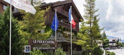 Prenez un bol d'air à Mégève. L'hôtel Le Fer à Cheval vous garantit repos, plaisir et gourmandise.  A découvrir sur : www.feracheval-megeve.com