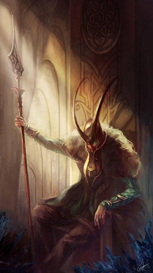 """Tom Hiddleston """"Loki"""" Fan art"""
