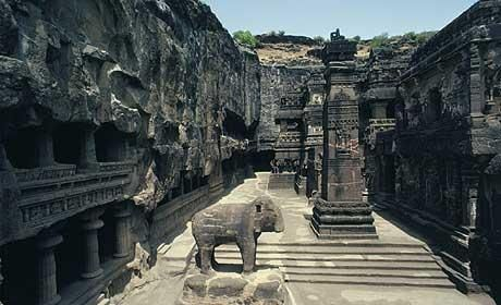 ajanta caves ancient india | The Ellora caves seem to have remained a comparative secret Photo ...