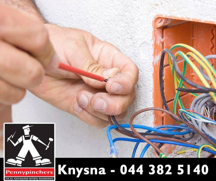 #TuesdayTip: When it comes to building, renovating or fixing your home, it's important to involve your electrician from the very beginning to do all the wiring at first and then start to renovate. #PennypinchersKnysna