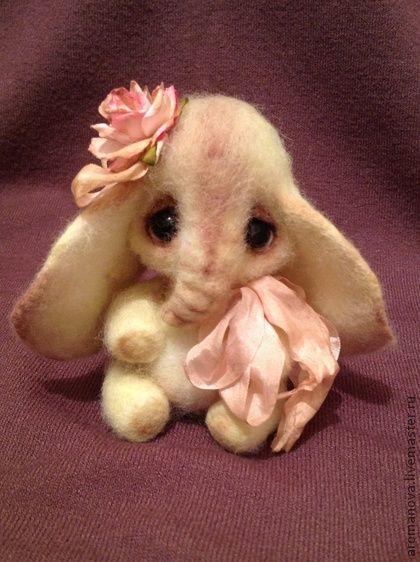 Игрушки животные, ручной работы. Слонюшка :). Handmade.