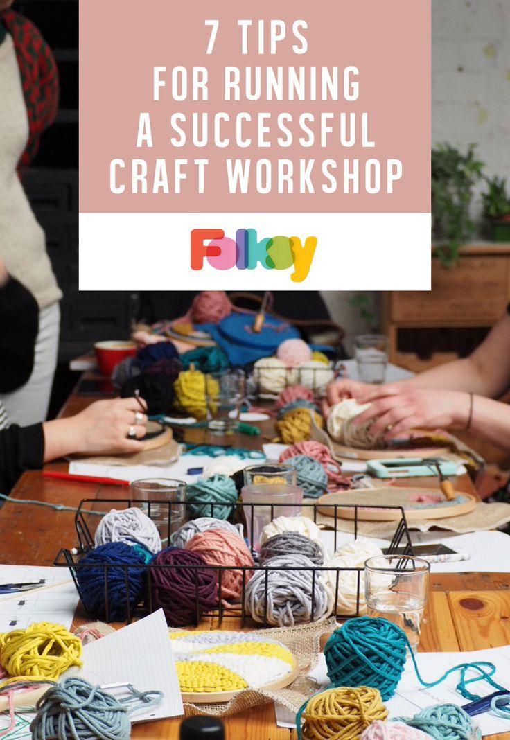 Führen Sie Ihren eigenen Workshop durch – 7 Top-Tipps für die Ausrichtung eines erfolgreichen Handwerksworkshops