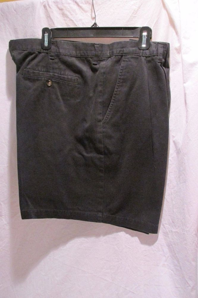 Mens Dress Shorts by George Black Soot  Size 44 #George #CasualShorts