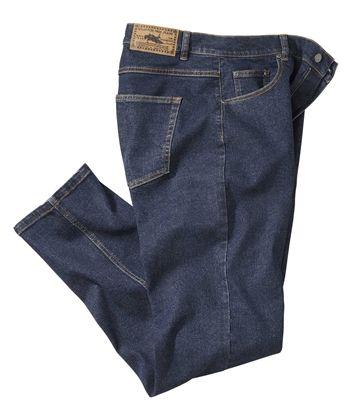 #Jeans Stretch Bleu #atlasformen #discount #collection #shopping #avis #nouvellecollection #newco #collection