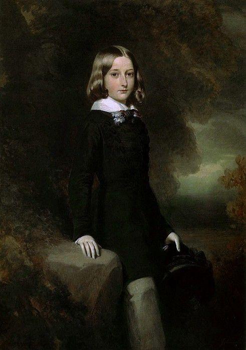 Леопольд, герцог Брабантский. Франц Ксавьер Винтерхальтер