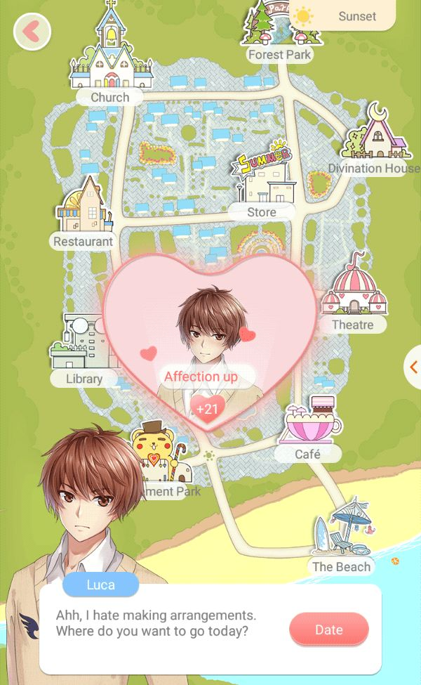 #dressupdiary #luca this is dating map, so you can choose your dating destination with your favorite virtual boy~ <3