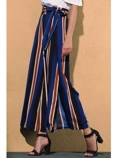 SHARE & Get it FREE | Striped Color Block High Waist Wide Leg PantFor Fashion Lovers only:80,000+ Items • New Arrivals Daily Join Zaful: Get YOUR $50 NOW!