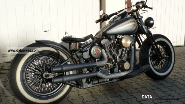 1998 Harley Davidson  Softail - Bobber Motorcycle Chopper/Cruiser photo