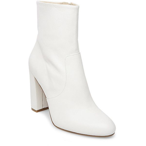 Best 25  White leather boots ideas on Pinterest | Shoe boots, Cute ...