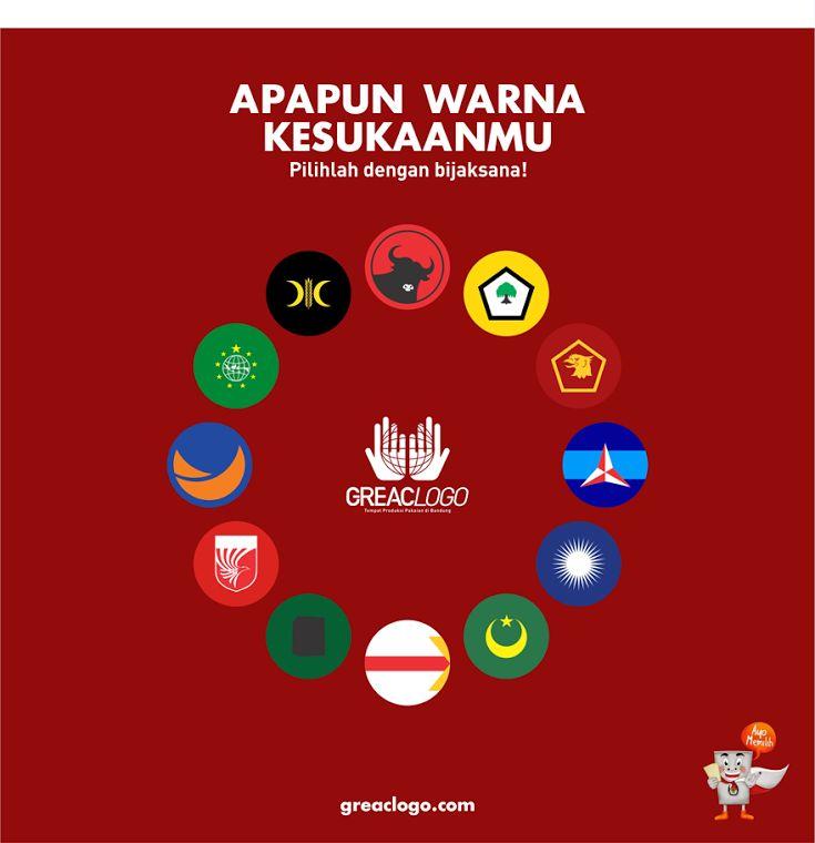 Apapun Warna Kesukaanmu. Pilihlah dengan bijaksana!  #Pemilu #Pemilu2014 #AyoMemilih #IndonesiaLebihBaik