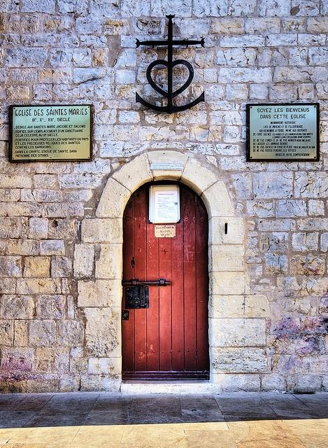 Fortified church Saintes-Maries-de-la-Mer ~