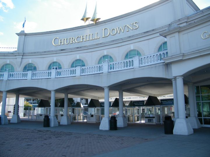 Churchill Downs and the Kentucky Derby Museum in Louisville Kentucky