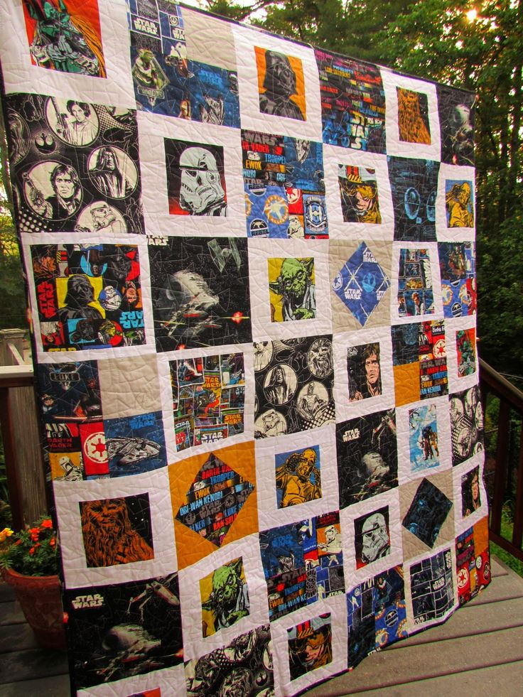 25+ Best Ideas about Star Wars Quilt on Pinterest Star wars fabric, Pixel crochet and Quilt sizes