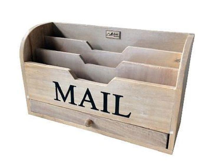 Post Box Klein naturel (6107) #Decoratie #Pakhuis3 #Mailbox