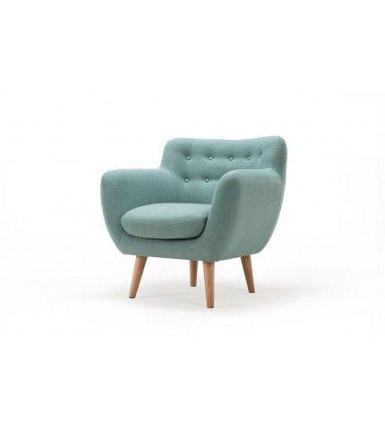 Anne, chair, Dina sage, oak legs #sofacompanynl #deensdesign