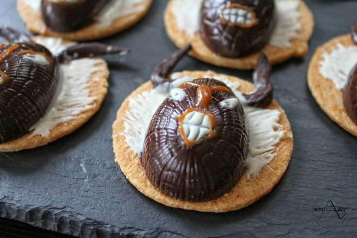 Chocolate treats for kids on Farsang (carnival in Hungary) based on traditional masks design filled with milk chocolate caramel ganache