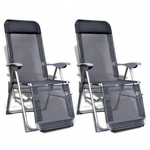 #Vidaxl set 2 sedie da campeggio pieghevoli - Out of stock  ad Euro 92.99 in #Vidaxl #Sedie da esterno