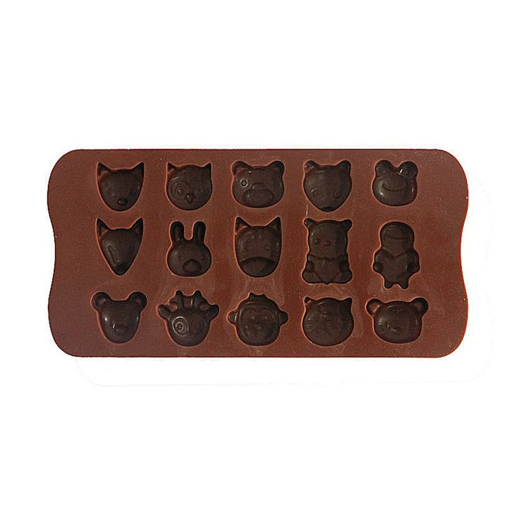 Silicone Ice Tray Hewan Rp 45.000