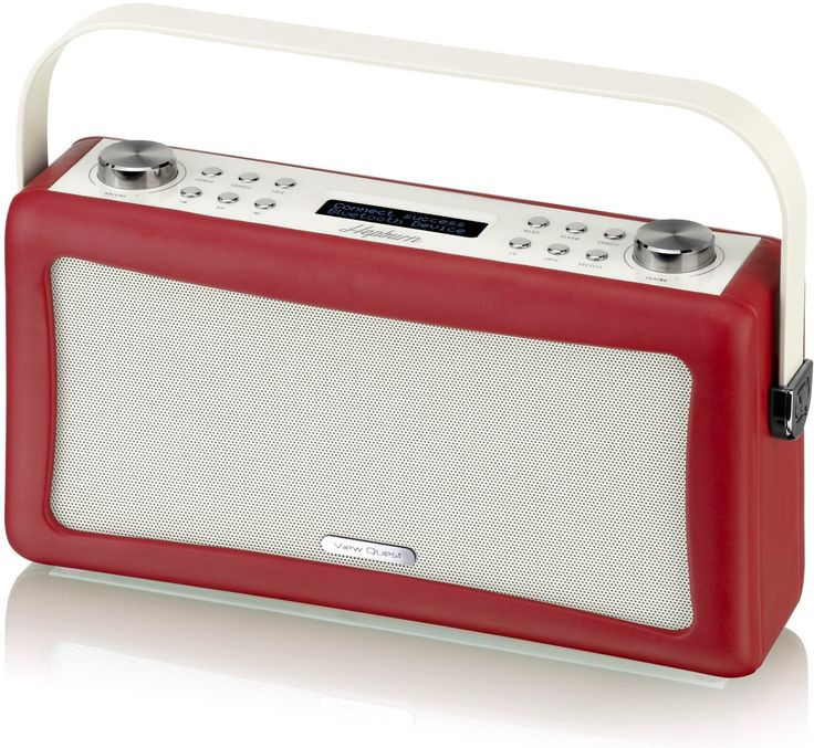 VQ (Vormals View Quest) VQ-HEP-RD Hepburn DAB+ Radio mit Bluetooth-Funktion rot: Amazon.de: Heimkino, TV & Video