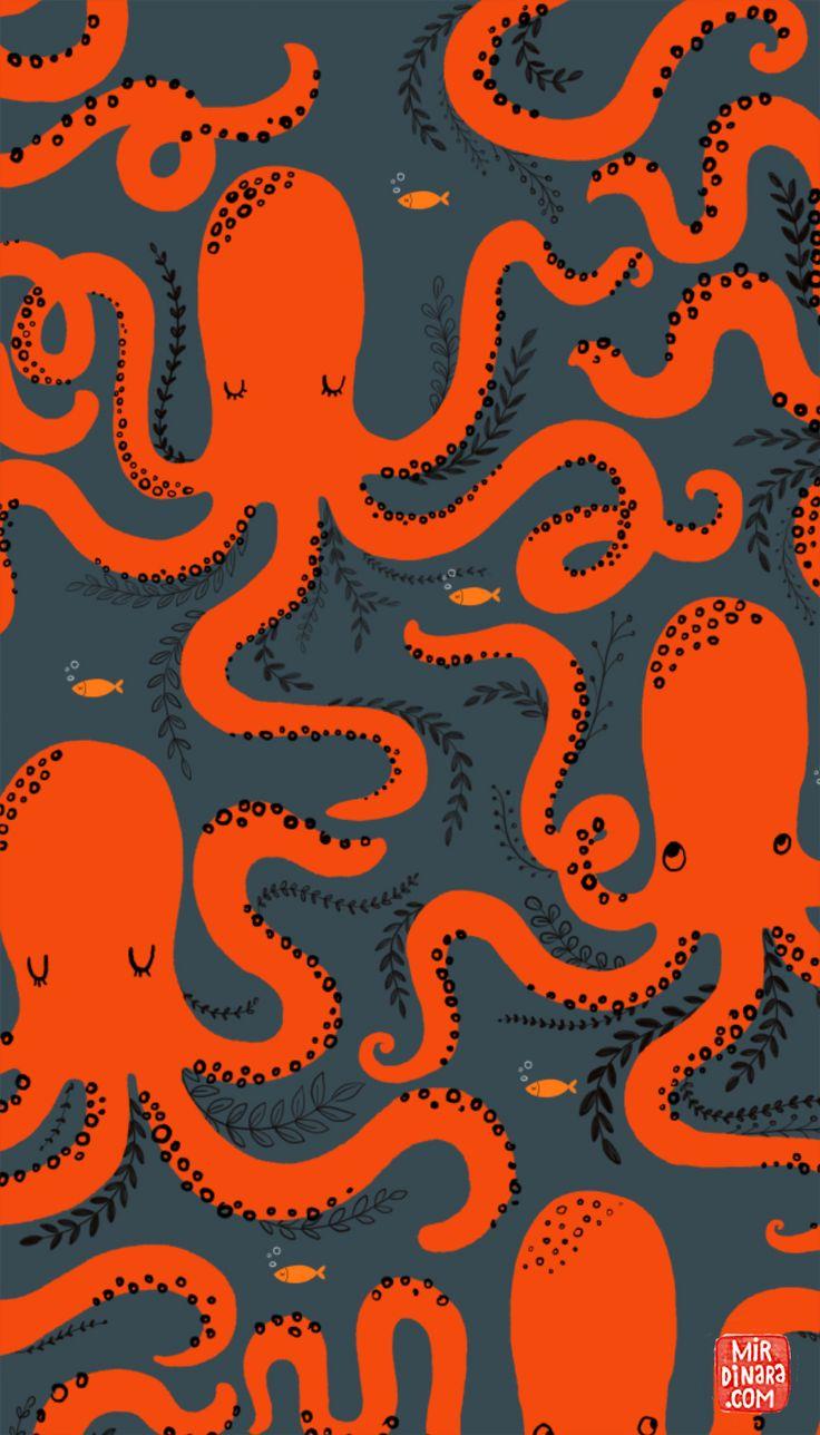 mirdinara_pattern20  Auf mirdinara.com http://www.pinterest.com/artipi/animal-illustrations/