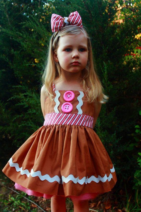 Gingerbread Girl Costume