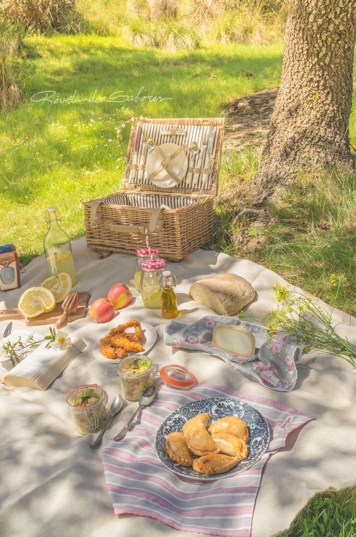 Revelando Sabores: {MENÚ PICNIC I} Empanadillas de bonito y berenjena, Ensalada de quinoa, Tiras crujientes de pavo y Limonada
