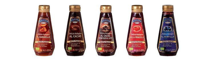 I Topping St. #Dalfour sono biologici, senza zucchero e disponibili in cinque gusti diversi: caramello, cacao, cacao aromatizzato al caffè, fragola, mirtillo! :)